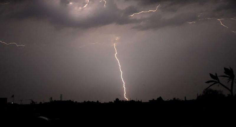 Lightning has killed more than 100 in India. Pictured is a lightning bolt in the nation's north. Source: Getty, file.