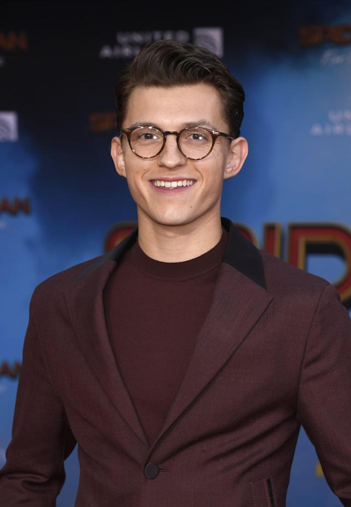 """<p>Following <a href=""""https://www.popsugar.com/entertainment/Spider-Man-Part-Marvel-Cinematic-Universe-46521647"""" class=""""link rapid-noclick-resp"""" rel=""""nofollow noopener"""" target=""""_blank"""" data-ylk=""""slk:last year's deal between Marvel and Sony"""">last year's deal between Marvel and Sony</a>, Holland's version of Peter Parker will continue to sling his webs in the Marvel universe for now, returning to headline his third solo film.</p>"""