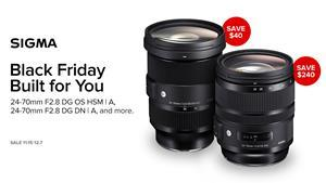 Limited time special pricing available on select Sigma products through authorized retailers.