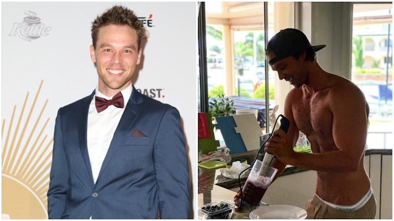 Lincoln Lewis has recently shifted more than 12kg following a health kick. Photo: Getty/Instagram/linc_lewis/