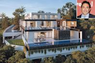 """<p><strong>Location:</strong> Bel Air, Calif.</p> <p>In late March, the <em>Botched</em> plastic surgeon, 58, officially listed the luxurious home he's been building in Bel Air. Despite not yet being complete, the spectacular property is already on the market asking a cool $32 million.</p> <p>""""This is what I envisioned when I thought about building this house in Bel Air, especially going through COVID: The home is now where you are going to make your oasis, work, play, and raise a family,"""" Nassif told PEOPLE of the build, which he dreamed up as a real estate and design project and never planned to move into. </p> <p>The home includes seven bedrooms, eight full bathrooms and four half bathrooms within its 12,130 square feet of living space and sits on just over 1.3 acres.</p> <p>The extravagant property, which is estimated to be completed in June or July 2021, is situated on a private, tree-lined hillside.</p> <p><a href=""""https://people.com/home/botched-dr-paul-nassif-builds-bel-air-home-lists-32-million/"""" rel=""""nofollow noopener"""" target=""""_blank"""" data-ylk=""""slk:See more photos of Dr. Paul Nassif's home."""" class=""""link rapid-noclick-resp"""">See more photos of Dr. Paul Nassif's home.</a></p>"""