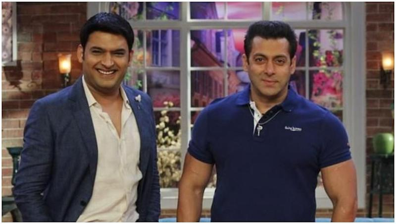 Kapil Sharma's Flirty Behaviour On the Sets of His New Show Compels The Crew Members to Bring Salman Khan in the Picture