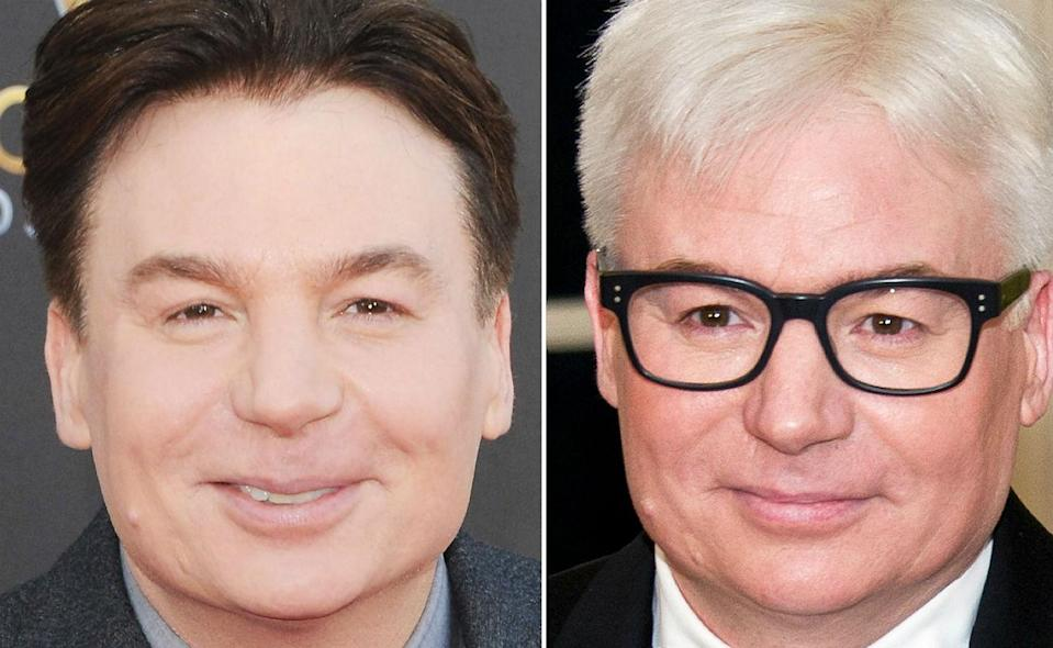 <p>Seems that Austin Powers is turning into Steve Martin. </p>