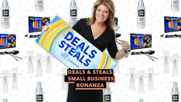 PHOTO: Deals & Steals Small Business Bonanza (ABC News)