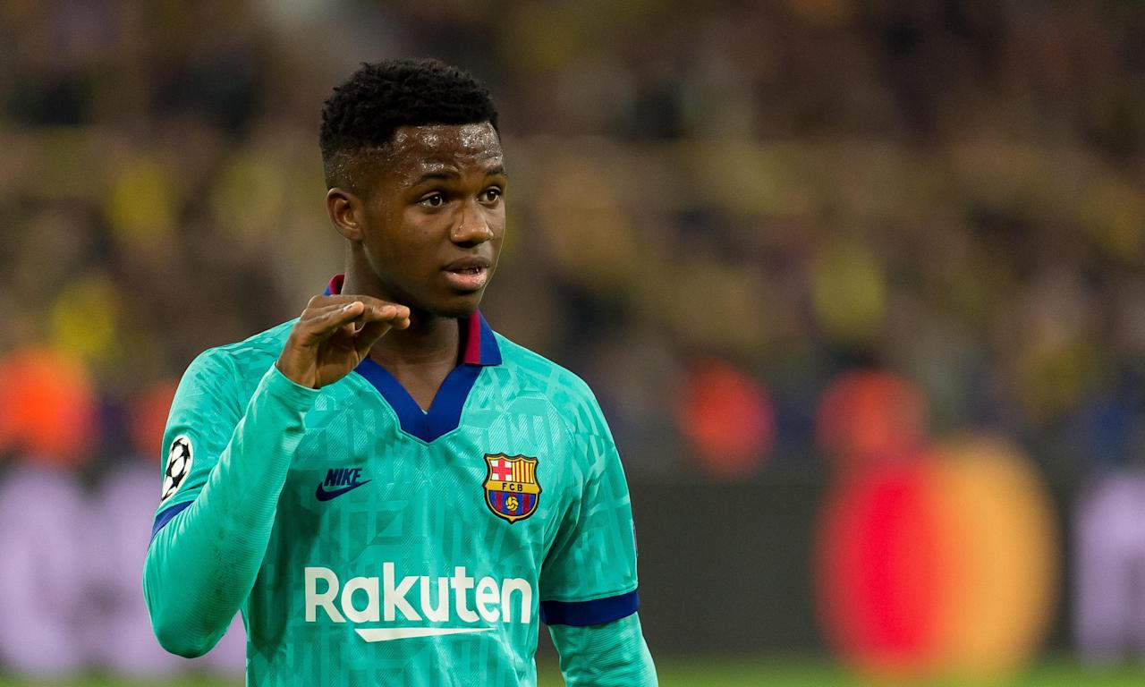 Ansu Fati this season became the youngest footballer to play for Barcelona in more than 80 years.