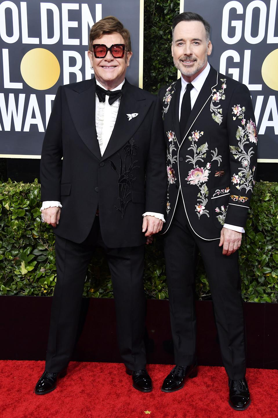 "<h1 class=""title"">Elton John and David Furnish</h1><cite class=""credit"">Photo: Getty Images</cite>"