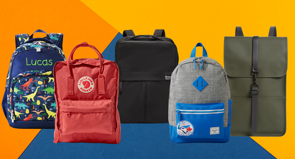These backpacks for elementary students, middle and high school students, college and university students, and more