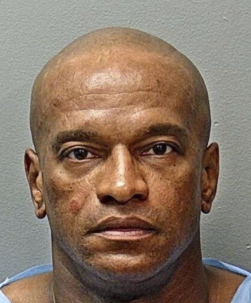 Michael Webb's mugshot in Texas.