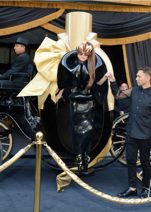 <b>Lady Gaga: </b>The Queen of all things weird and bizarre, Lady Gaga arrived to the Lady Gaga 'Fame' eau de parfum launch at Macy's Herald Square on September 14, 2012 in New York City.