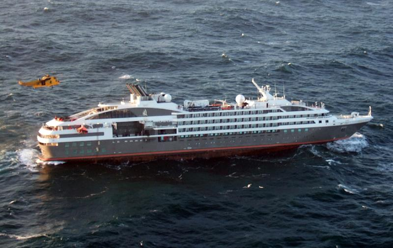 Rescued From French Cruise Ship After Fire On Board - Cruise ship in london