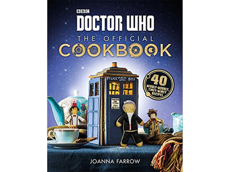 Cook your way through Whovian dishes page by page for a futuristic feastAmazon