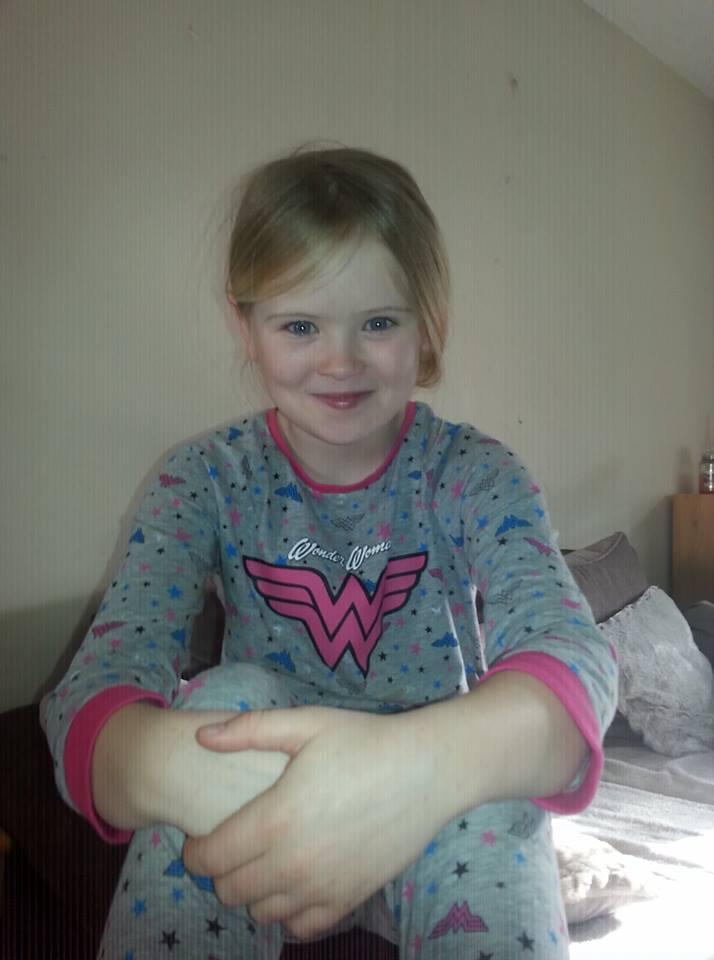 Eight-year-old Mylee Billingham was killed on Saturday evening (Picture: Facebook)