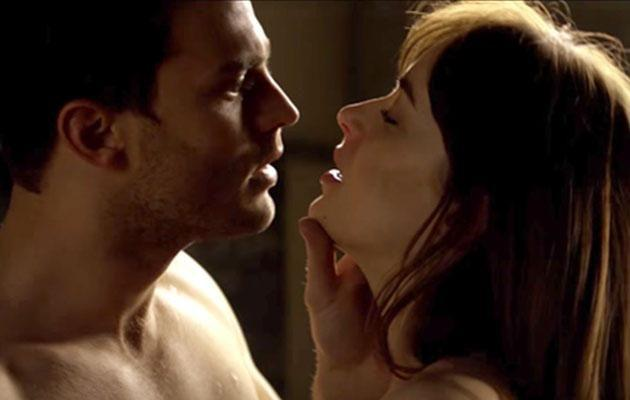Twitter users were suspicious the 50 Shades cucumber was a prank. Photo: Universal Pictures