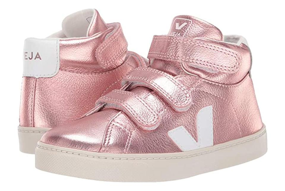 Veja, kids sneakers, rose gold
