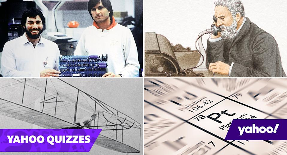 Quiz: Can you match the inventor to their famous invention?