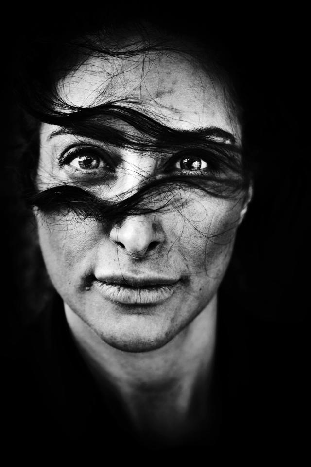 In this photo provided on Friday Feb. 10, 2012 by World Press Photo, the 1st Prize Portraits Singles category of the 2012 World Press Photo Contest by Laerke Posselt, Denmark, shows Iranian-born Danish actress Mellica Mehraban, Copenhagen, May 4, 2011. (AP Photo/Laerke Posselt)