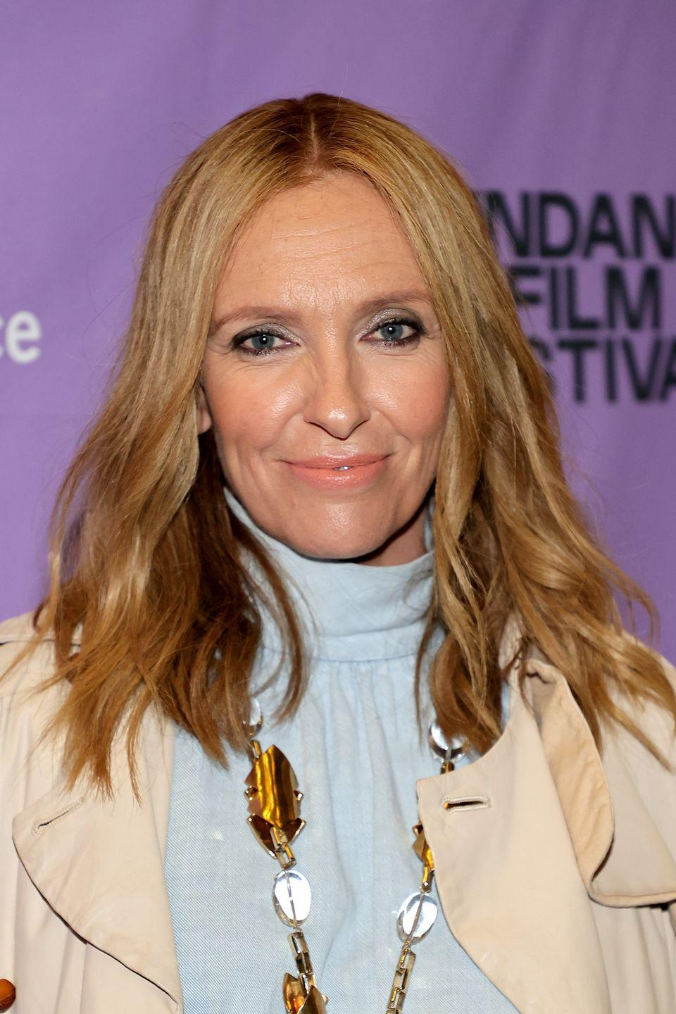 """<p>Blondes tend to go blonder in the summer — but hang on before you grab the bleach. A rich, honey shade like this one can add warmth to your complexion, like this style <strong>Toni Collette</strong> has. For this look, ask your colorist for """"honeyed highlights.""""</p>"""