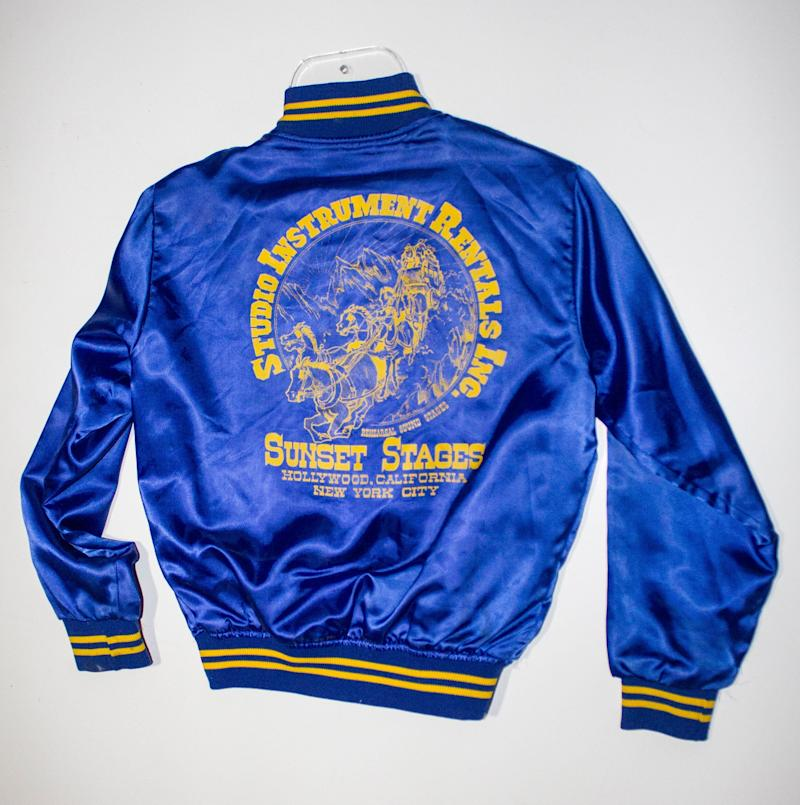 Linda Ronstadt can be seen wearing this jacket in the album cover photograph for her ninth album, <em>Living in the U.S.A</em>. The 2014 Rock and Roll Hall of Fame Inductee exhibit opens May 31, 2014 in Cleveland, Ohio.