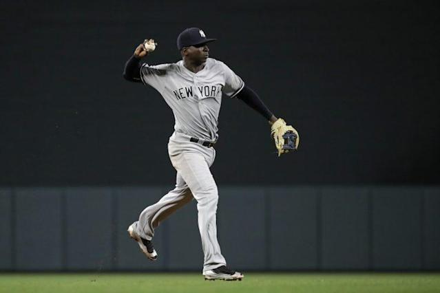 Didi Gregorius has adjusted well to life in the American League. (AP)