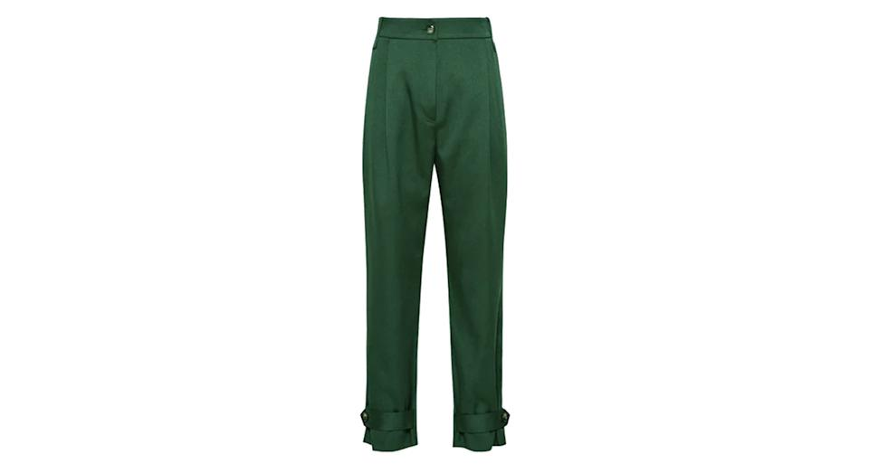Duke Pleat front Tapered Trousers