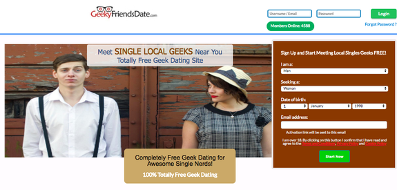 nerds dating site
