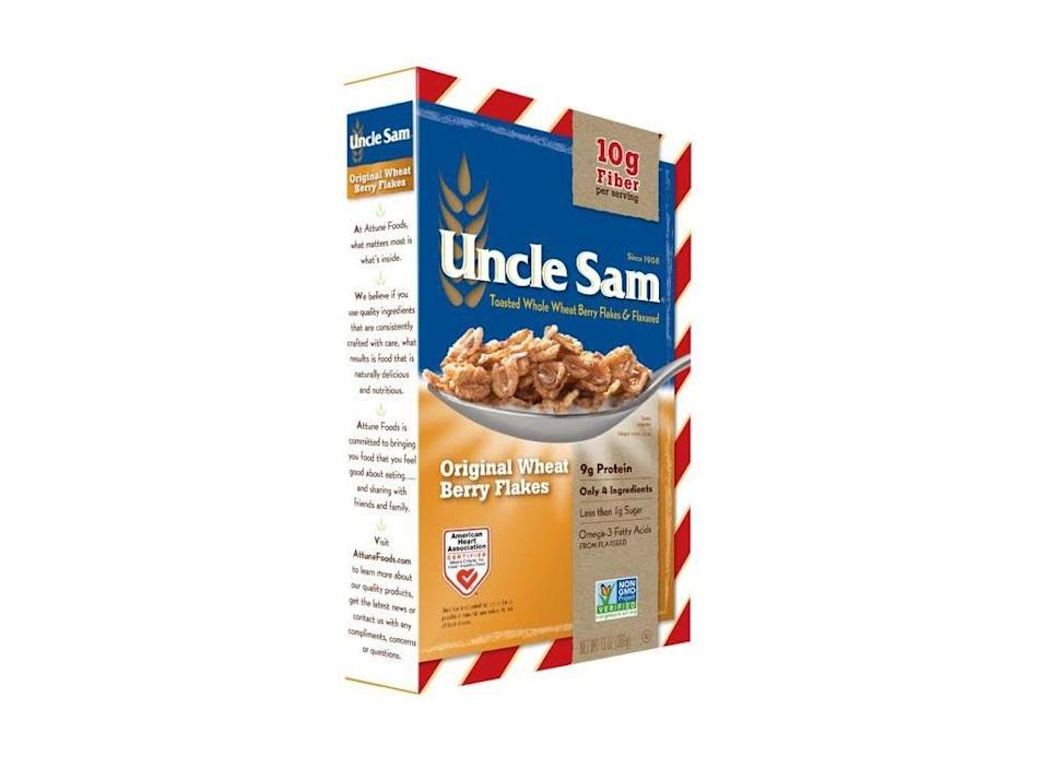 best probiotic products - uncle sam wheat berry flakes