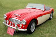 <p>The 100 is a perfect example of how British manufacturers were reinvigorated after World War II finally ended. This Austin-Healey got its name because it could hit 100 mph.</p>