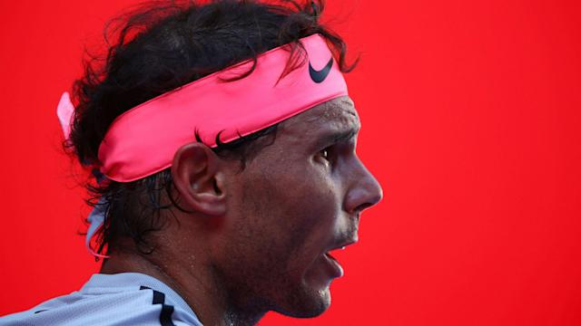 World number one Rafael Nadal kept his cards close to his chest when quizzed on the prospect of boycotting the 2019 Australian Open.