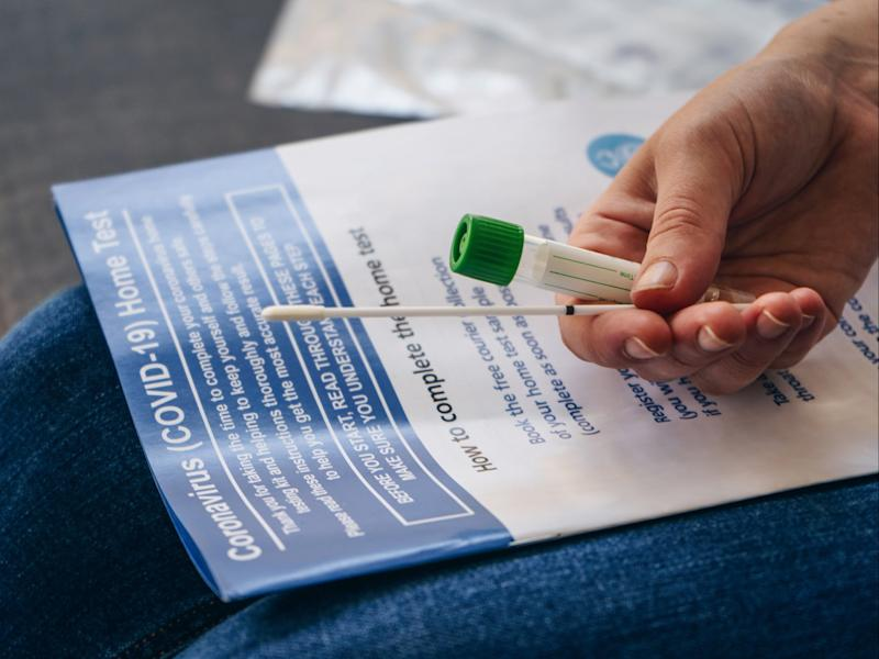 The government has revealed plans to boost the number of coronavirus home tests (Getty Images)