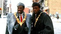 <p> <strong>Release date:&#xA0;</strong>March 5, 2021 (Amazon Prime) </p> <p> Eddie Murphy and Arsenio Hall are reteaming for a sequel to the classic American movie Coming To America, aptly titled Coming 2 America. This time around, Murphy&apos;s former Prince Akeem Joffer is about to become King of Zamunda when he discovers he has a son in America &#x2013; a street-savvy Queens native named Lavelle, played by Jermaine Fowler. The cast includes dozens of famous names &#x2013; Leslie Jones, Tracy Morgan, John Amos, Wesley Snipes, James Earl Jones, Morgan Freeman, Rick Ross, and KiKi Layne, to name a few &#x2013; and looks set to be another hilarious ride.&#xA0; </p>