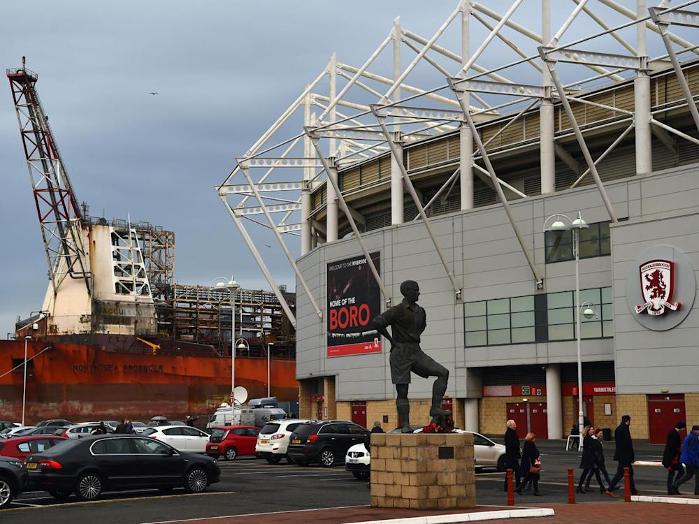 The Riverside Stadium, Middlesbrough's home ground (Getty)