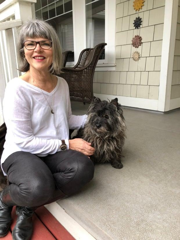 Yvonne Everson and her dog, Callie, who went missing for nearly 48 hours.