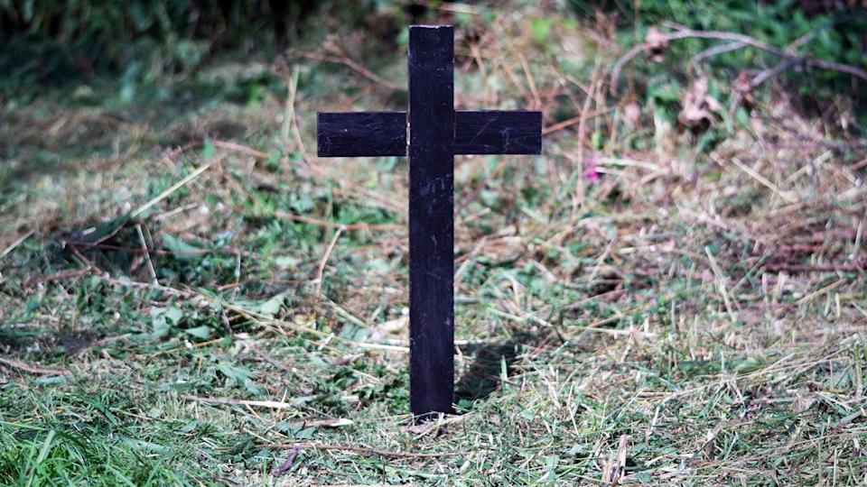 Adam's unmarked grave in London