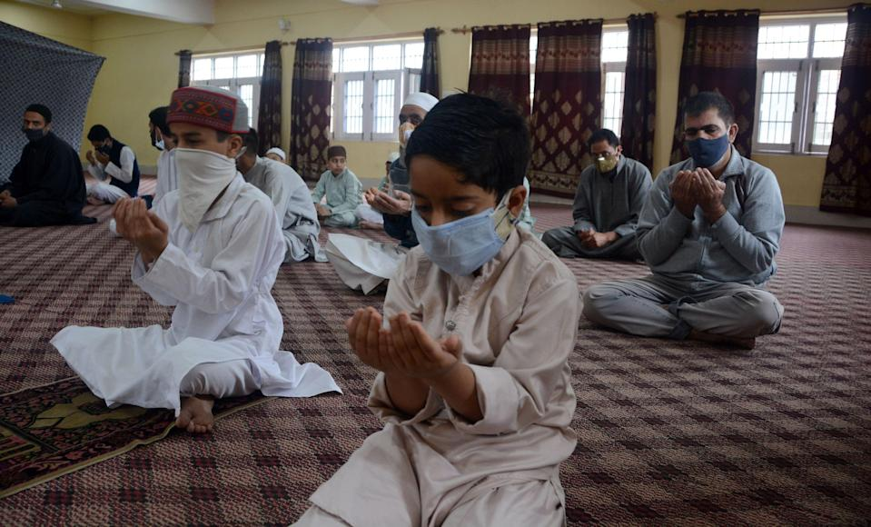 Kashmir Valley celebrated Eid-ul-Fitr amid COVID crisis. The celebrations were a low-key affair with people offering prayers at local mosques.