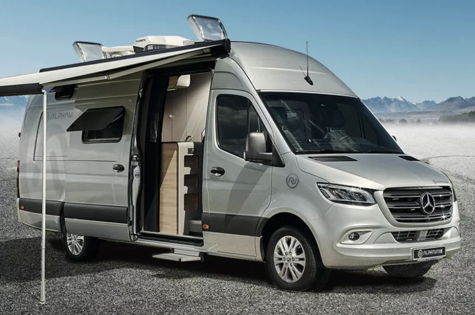"""<p>If you're looking for a van that could truly double as a residence for just about anyone, yet still retains the proportions of a regular full-size van...you'd be hard-pressed to outdo the Alphavan.</p><p><a class=""""link rapid-noclick-resp"""" href=""""https://www.gearpatrol.com/cars/a34110637/alphavan-giant-camper-van-2021/"""" rel=""""nofollow noopener"""" target=""""_blank"""" data-ylk=""""slk:LEARN MORE"""">LEARN MORE</a></p>"""