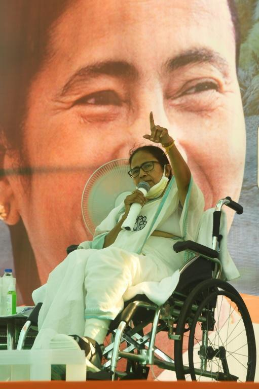 West Bengal Chief Minister Mamata Banerjee is fighting a fiercely-contested election against a former confidant now tied to India's ruling party