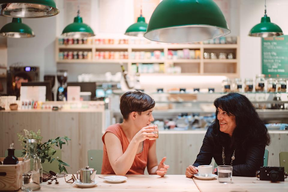 Go into a conversation assuming the person is interesting and you're bound to find out something interesting about them. (Photo: KT images via Getty Images)