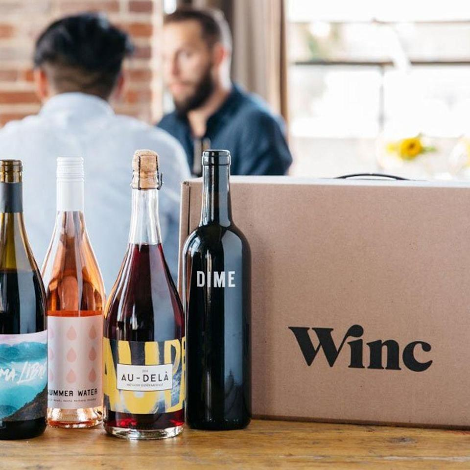 """<p><strong>Winc </strong></p><p>winc.com</p><p><a href=""""https://go.redirectingat.com?id=74968X1596630&url=https%3A%2F%2Fwww.winc.com%2Fgifts%2Fgift-cards&sref=https%3A%2F%2Fwww.goodhousekeeping.com%2Fholidays%2Fgift-ideas%2Fg4349%2Fgifts-for-college-graduates%2F"""" rel=""""nofollow noopener"""" target=""""_blank"""" data-ylk=""""slk:Shop Now"""" class=""""link rapid-noclick-resp"""">Shop Now</a></p><p>Special occassions call for wine! Keep the party going by gifting them a monthly wine subscription of curated reds, whites and rosés, tailored to their flavor profile.</p>"""