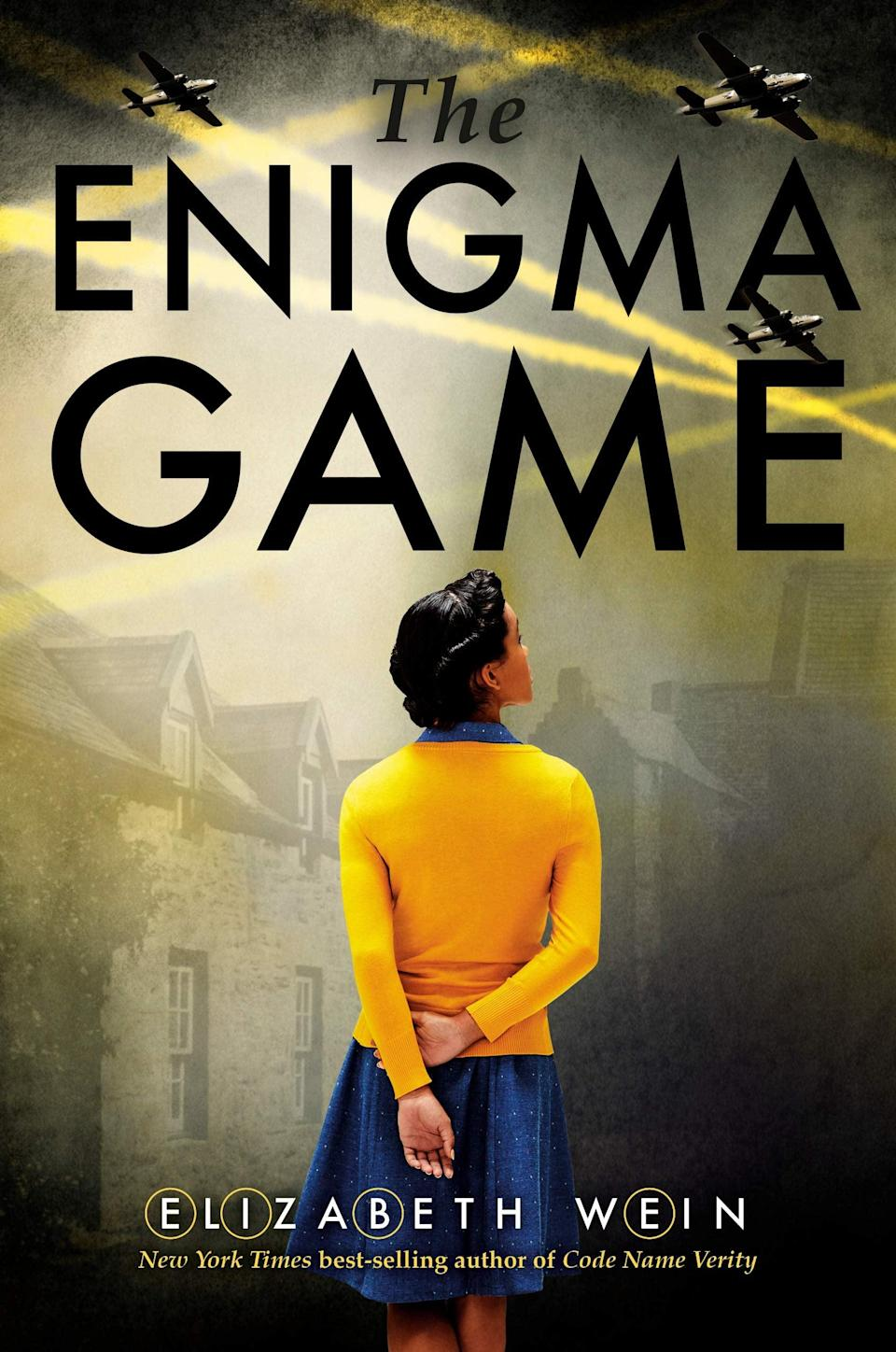 <p>Elizabeth Wein's <span><strong>The Enigma Game</strong></span> is another engrossing World War II-set novel from the author who gave us <strong>Code Name Verity</strong>. In 1940, 15-year-old Louisa Adair is searching for a way to contribute to the war effort when she takes on the job of caring for an elderly German woman in Windyedge, Scotland. At first, Louisa feels as if she should be doing something more worthy, but she soon finds herself embroiled in a code-cracking mission of epic proportions. </p> <p><em>Out Nov. 3</em></p>