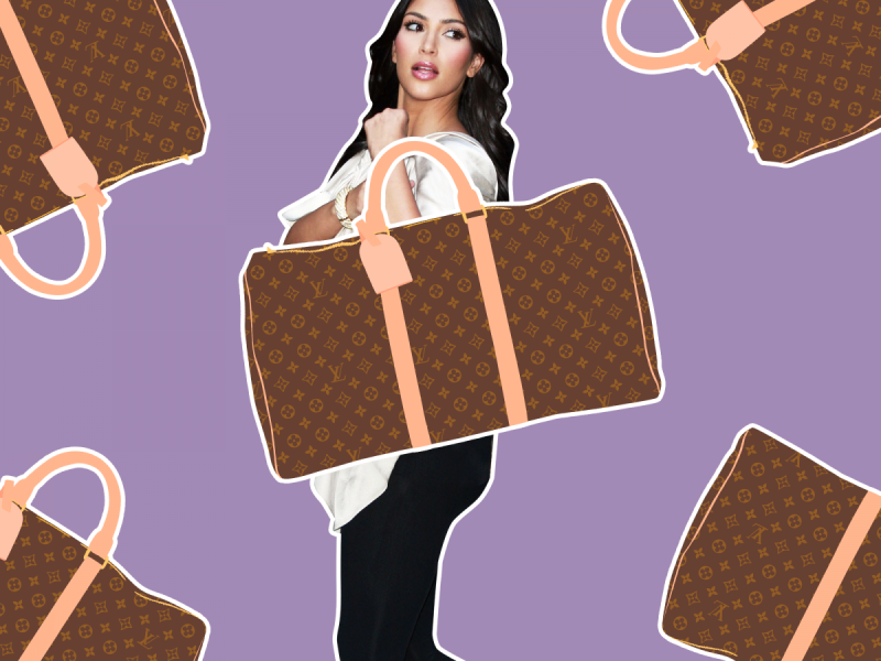 6abe7ddbaf0 An Illustrated History Of Kim Kardashian   Her Louis Vuitton Bags
