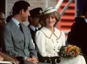 <p>On yet another royal tour (this time in Canada), Charles and Diana share a glance.<br></p>