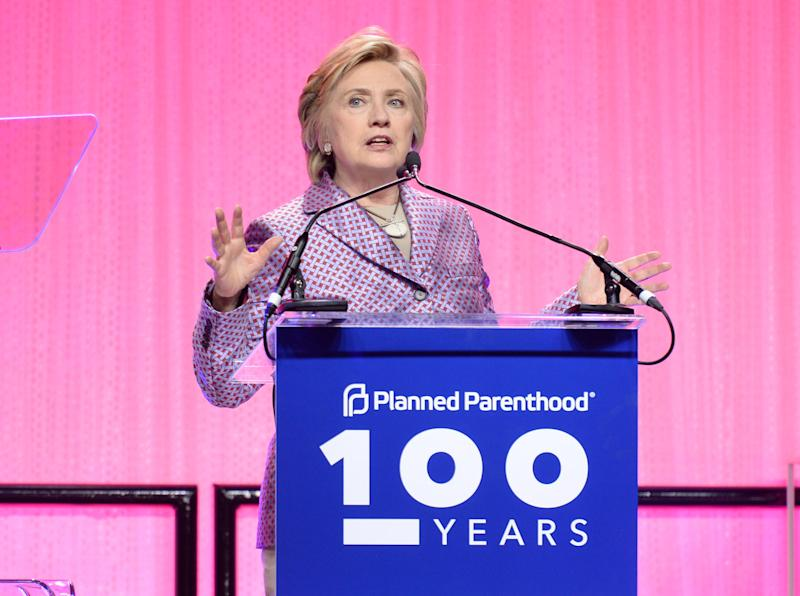 Hillary Clinton Used Handmaid's Tale As a Warning in Planned Parenthood Speech