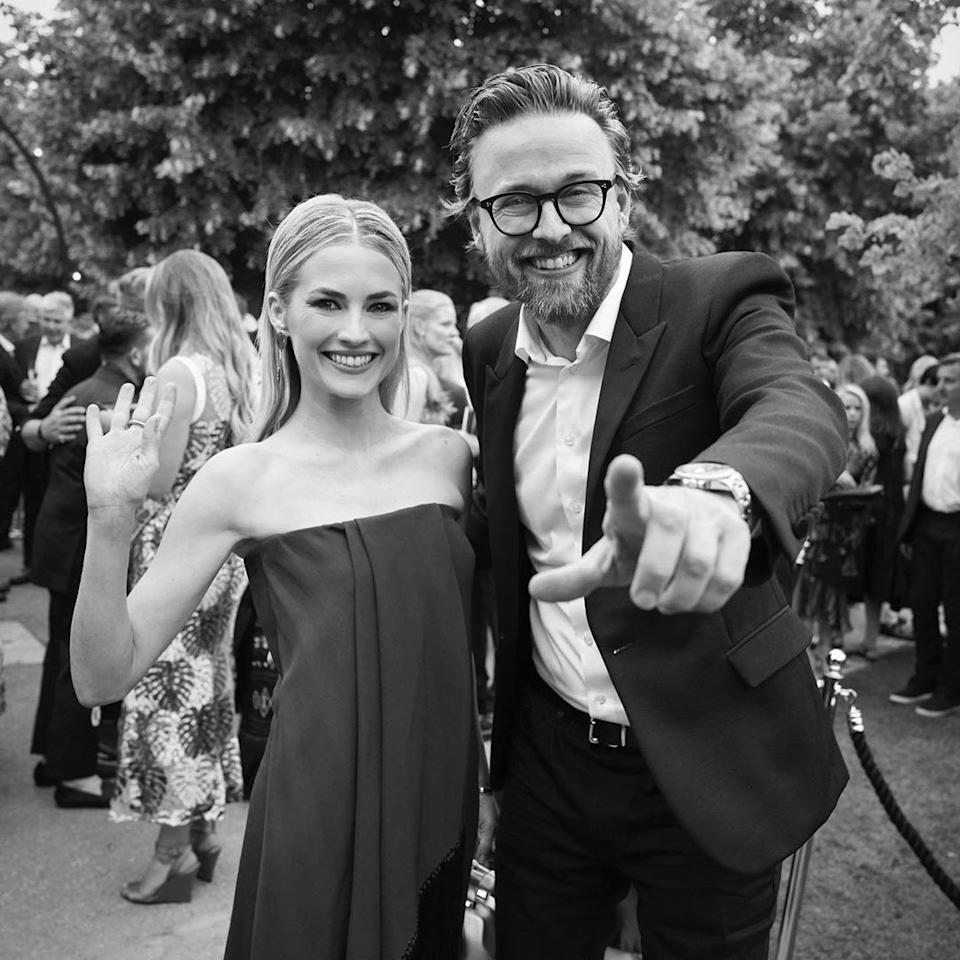 Joachim Rønning, Norwegian film director, and Amanda Hearst, great-granddaughter of publishing tycoon William Randolph Hearst, married in August 2019. Naturally, the two married at Hearst Castle, and the bride wore five different dresses to the ceremony.
