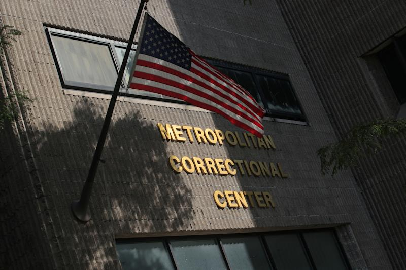 An exterior view of the Metropolitan Correctional Center jail where financier Jeffrey Epstein, who was found unconscious with injuries to his neck according multiple media outlets citing unidentified sources while awaiting trial in his sex trafficking case in the Manhattan borough of New York City, New York, U.S., July 25, 2019. REUTERS/Brendan McDermid
