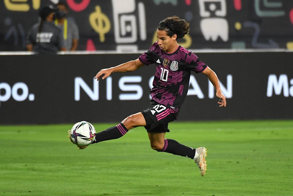 Diego Lainez is expected to be a key contributor for Mexico at the Olympics in Tokyo.