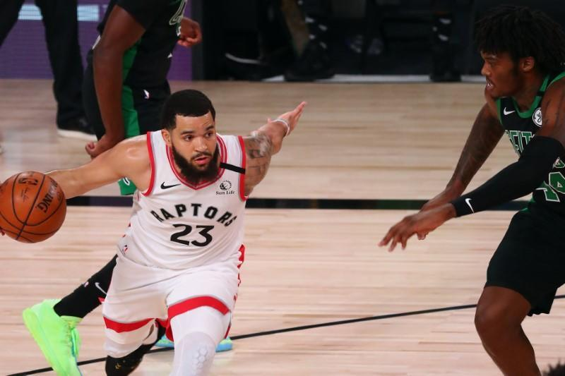 FILE PHOTO: NBA: Playoffs-Boston Celtics at Toronto Raptors