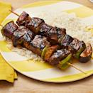 """<p>This marinade combines oyster sauce, soy sauce, and lots of ginger to create a savory-sweet glaze. Use it on chicken or pork, too!<br></p><p><a href=""""https://www.thepioneerwoman.com/food-cooking/recipes/a35971024/soy-ginger-beef-kebabs-with-rice-recipe/"""" rel=""""nofollow noopener"""" target=""""_blank"""" data-ylk=""""slk:Get Ree's recipe."""" class=""""link rapid-noclick-resp""""><strong>Get Ree's recipe.</strong></a></p><p><a class=""""link rapid-noclick-resp"""" href=""""https://go.redirectingat.com?id=74968X1596630&url=https%3A%2F%2Fwww.walmart.com%2Fbrowse%2Fhome%2Fmixing-bowls%2F4044_623679_133020_4496646_2514018&sref=https%3A%2F%2Fwww.thepioneerwoman.com%2Ffood-cooking%2Frecipes%2Fg36491151%2Fmarinade-recipes-for-grilling%2F"""" rel=""""nofollow noopener"""" target=""""_blank"""" data-ylk=""""slk:SHOP MIXING BOWLS"""">SHOP MIXING BOWLS</a> </p>"""