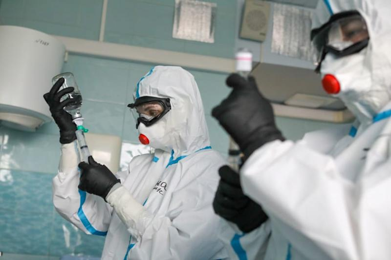 Russia Rolls Out First Approved Covid-19 Drug as Infections Pass 500,000