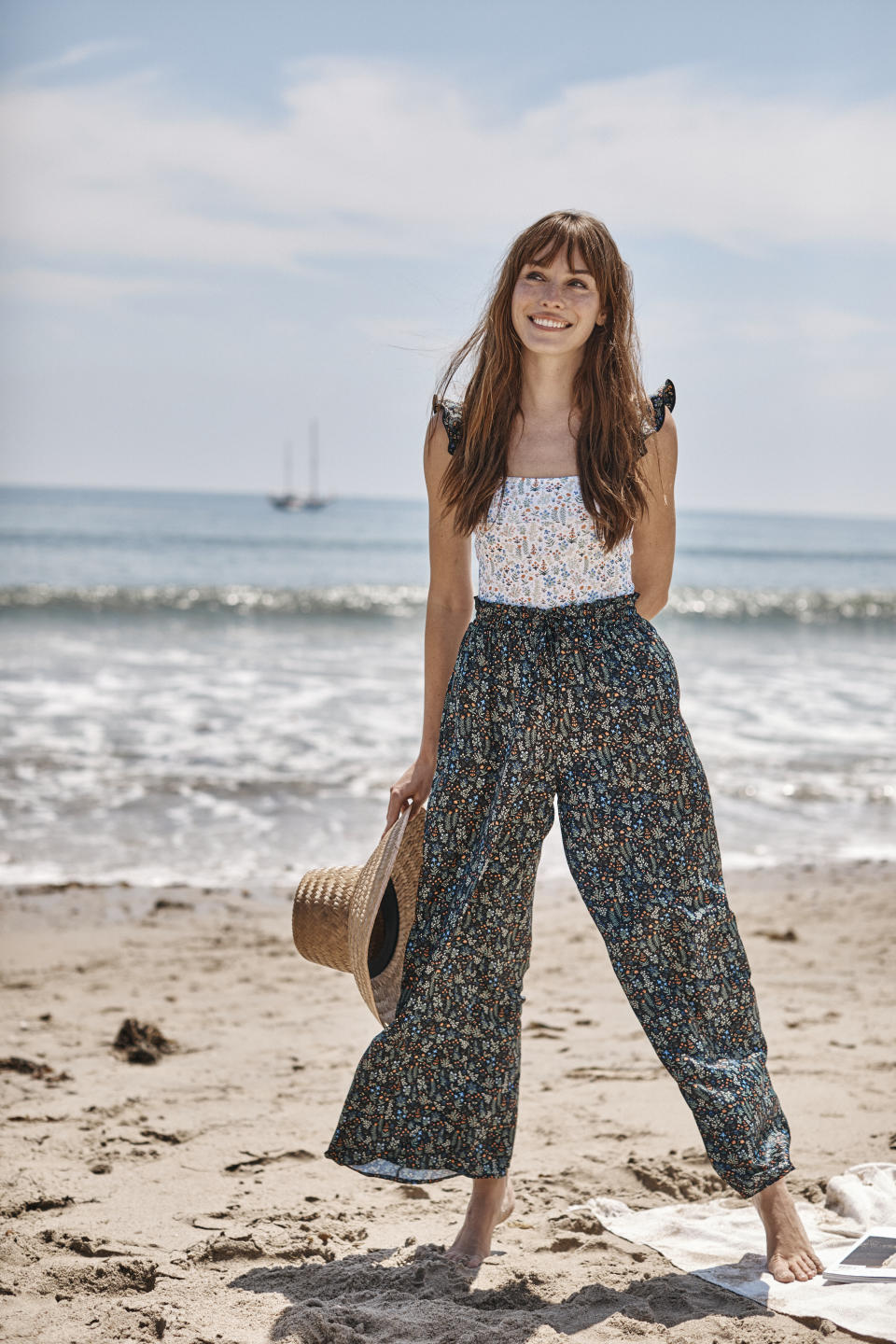 The Palazzo Pant With Ties. Image courtesy of Rifle Paper Co.