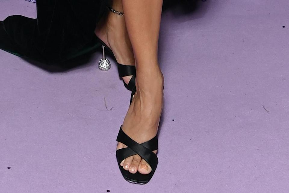 A closer look at Hudgens' mules. - Credit: Courtesy of LuisaViaRoma